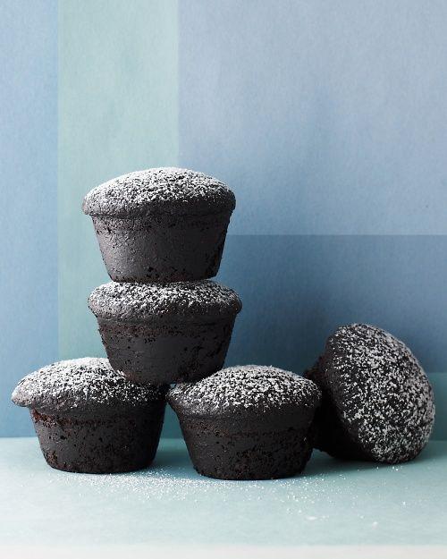 Peanut-Butter-Filled Devil's Food Cupcakes