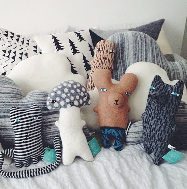 Our creatures hanging out at @ Cissywears in London!