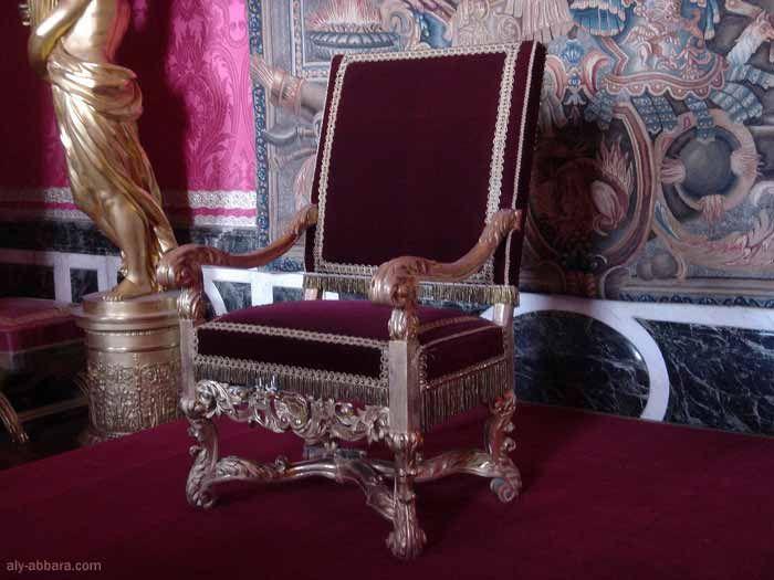 la salle du Trône ou le salon d'Apollon