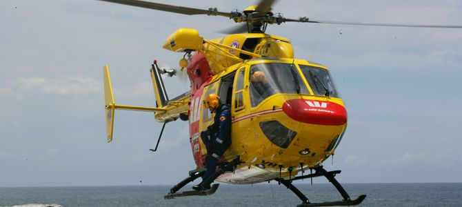 Westpac Life Saver Rescue Helicopter -  Surf Life Saving