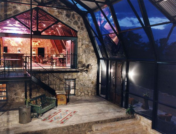 Stone Barn Conversion In Texas Hill Country Blanco