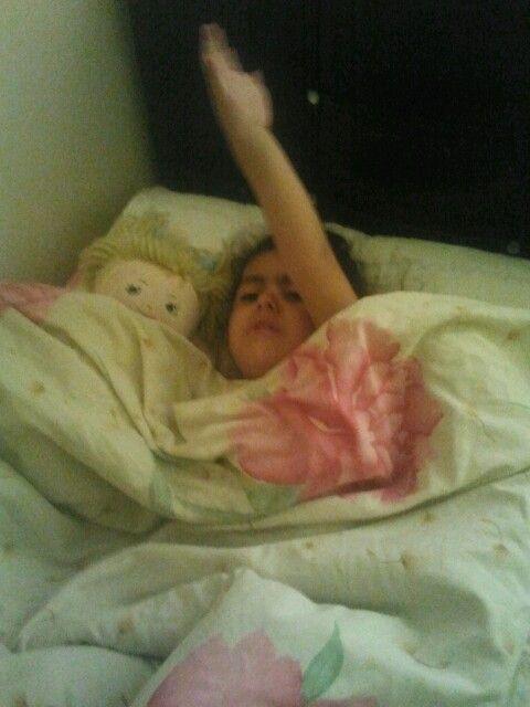 Uykucu kızım