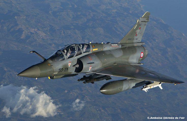 French Armée de l'Air Dassault Mirage 2000.