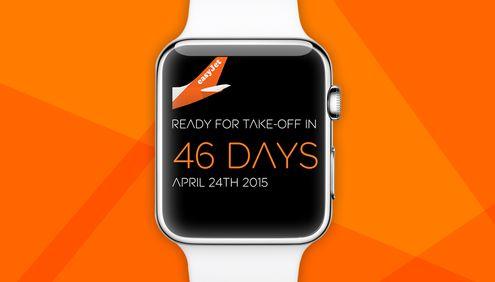 easyJet a lansat o aplicaţie pentru Apple Watch