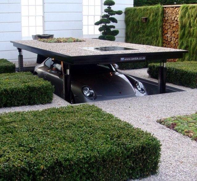 Hydraulic Underground Garage Parking UK Based