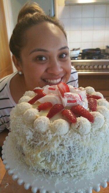 Rafaello home made cake