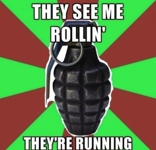 They See Me Rollin Meme