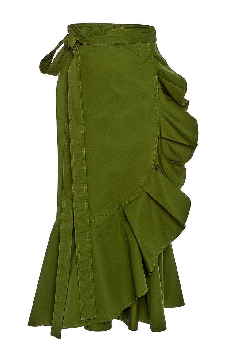 Daniel Ruffled Skirt by ALEXIS for Preorder on Moda Operandi