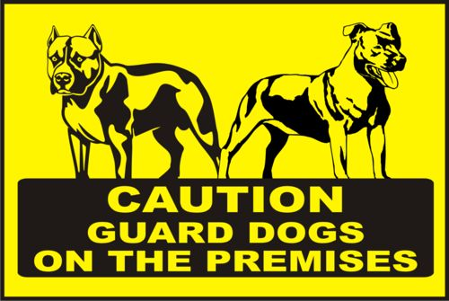 42 Best Images About Beware Of Dog Signs On Pinterest