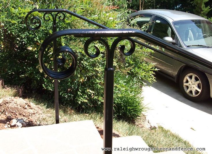 Chicago IL custom wrought iron railings Raleigh Wrought Iron Co.                                                                                                                                                                                 More