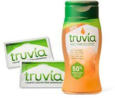 Free Sample of Truvía® Natural Sweetener and/or NEW Truvía® Nectar 1 (scheduled via http://www.tailwindapp.com?utm_source=pinterest&utm_medium=twpin&utm_content=post94281625&utm_campaign=scheduler_attribution)