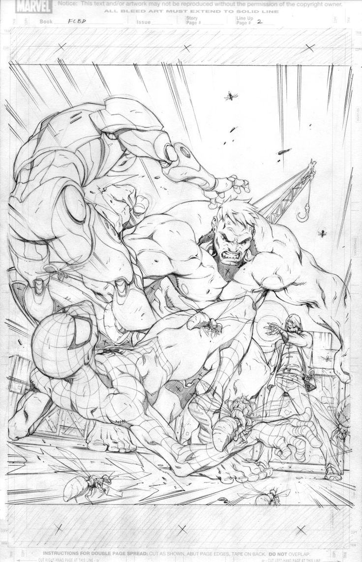 MARVEL- Free Comic Book Day by alvinlee.deviantart.com on @deviantART