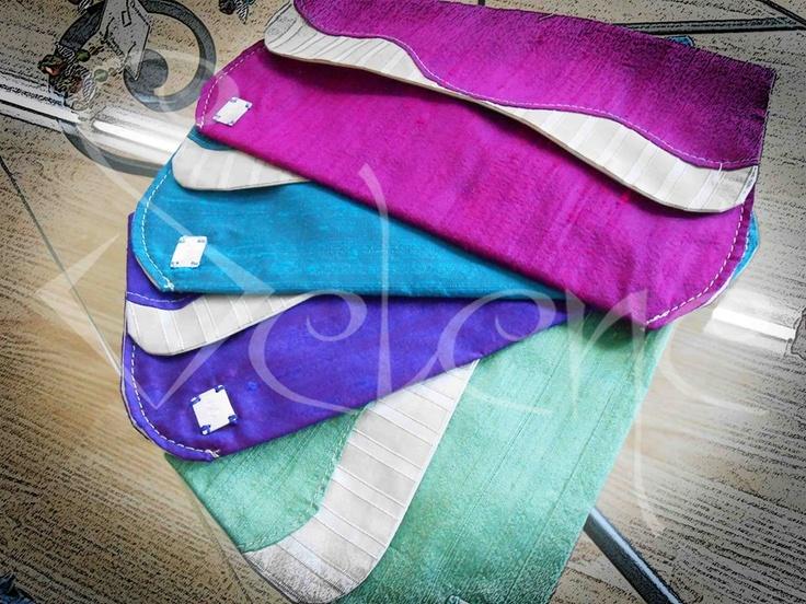 "the 100%silk Pochettes... ""PHENOMENAL COSMIC POWERS.. itty bitty living space"""