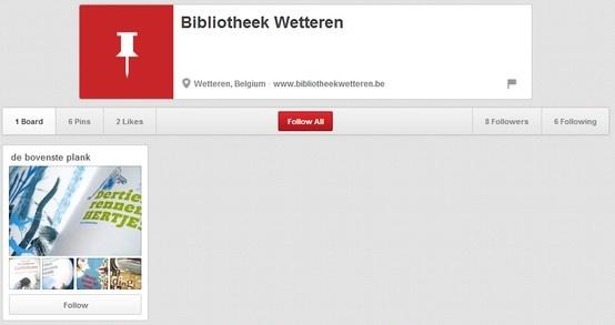 Bibliotheek Wetteren  http://pinterest.com/bibwetteren/