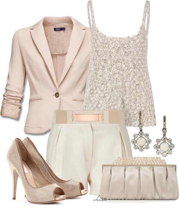 Ladies Dressy Shorts