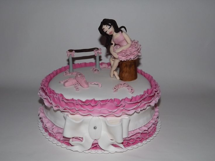 Ballerina Cake with PipiCake Balett torta