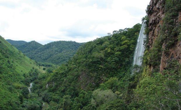 Relevo do estado de Mato Grosso do Sul - MS