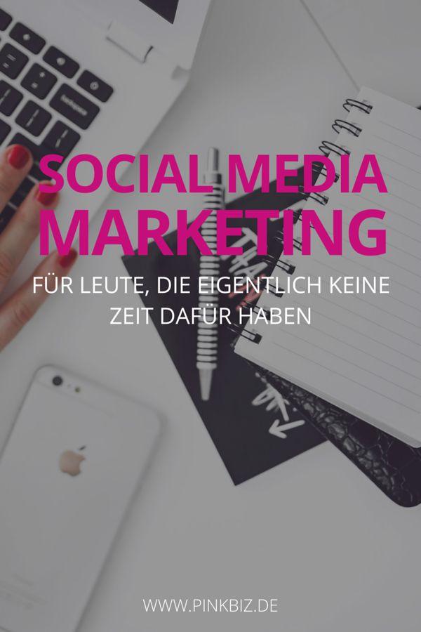 Social-Media-Marketing ist zeitraubend. Social-Media-Marketing kostet Geld…