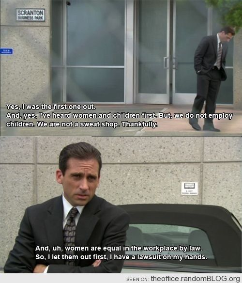 """He explained the importance of equality. 