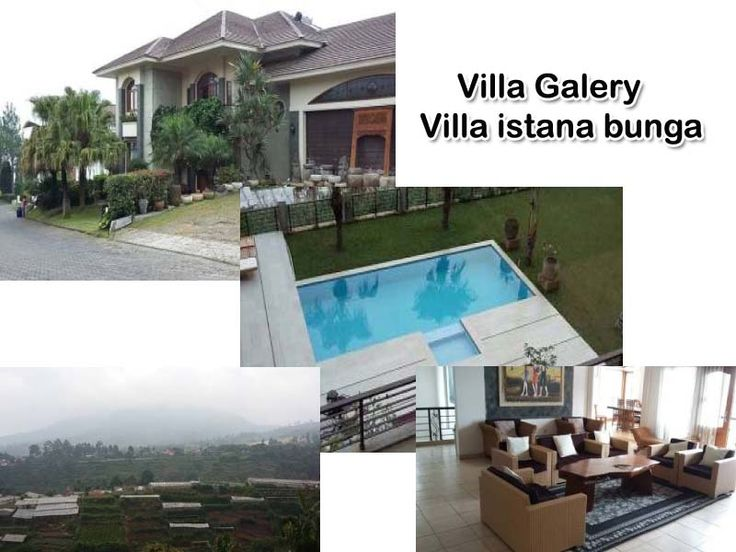 villa gallery lembang private pool