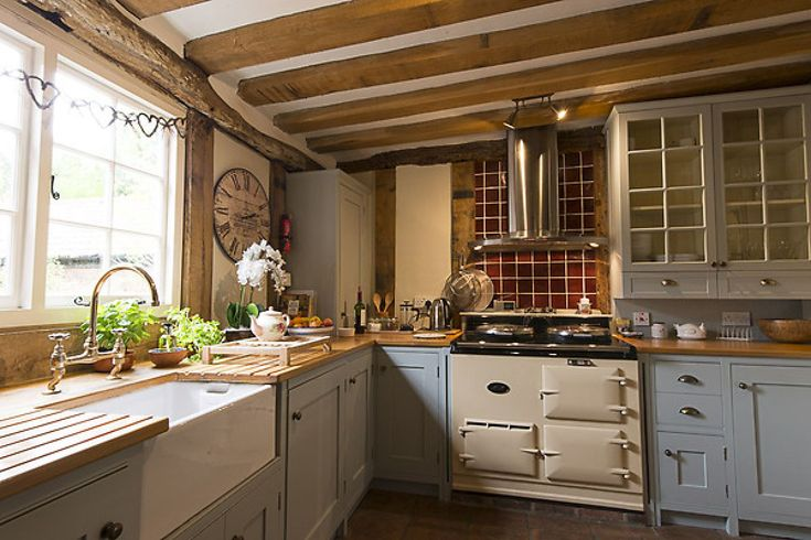 The very well equipped kitchen boasts an Aga