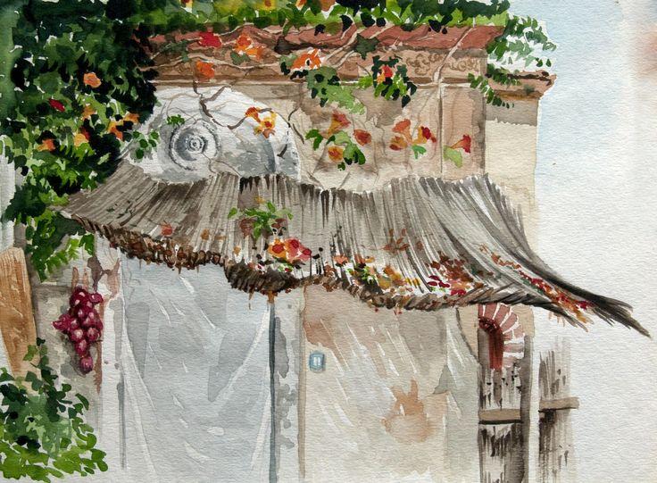 #watercolor #sangiovannilicuti #flower