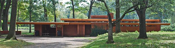 Frank Lloyd Wright's Usonian Homes; The Melvyn Maxwell and Sara Stein Smith House | Inhabitat - Sustainable Design Innovation, Eco Architecture, Green Building