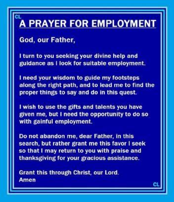 Best 25+ Prayer for a job ideas on Pinterest