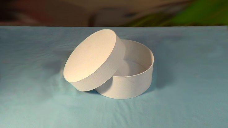 Caixa redonda - PARTE1 / Round Box - PART1