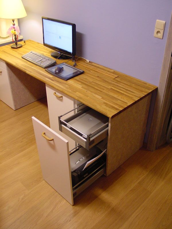 IKEA Hackers: Custom computer desk