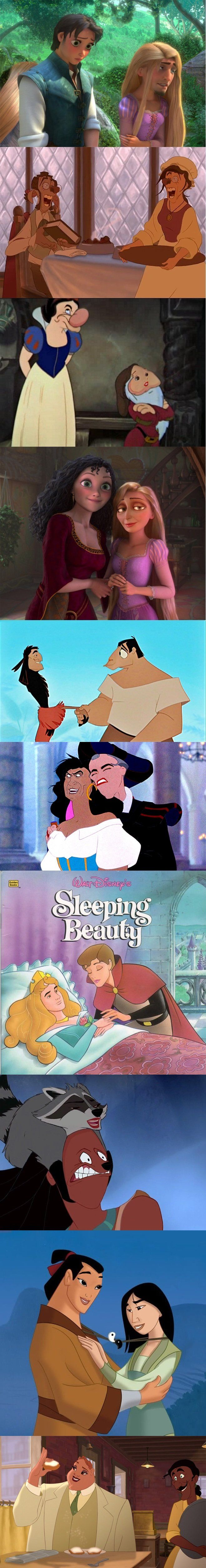 Disney face swap comp. .