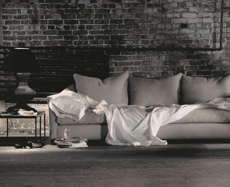 coming home. montauk sofa.