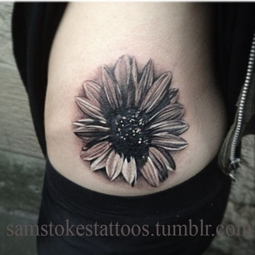 Realistic Daisy Tattoo: 36 Best Daisy Tattoo Realistic Images On Pinterest