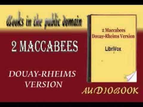 (STRAMBONI)2 Maccabees audiobook DOUAY-RHEIMS VERSION - Tuberov