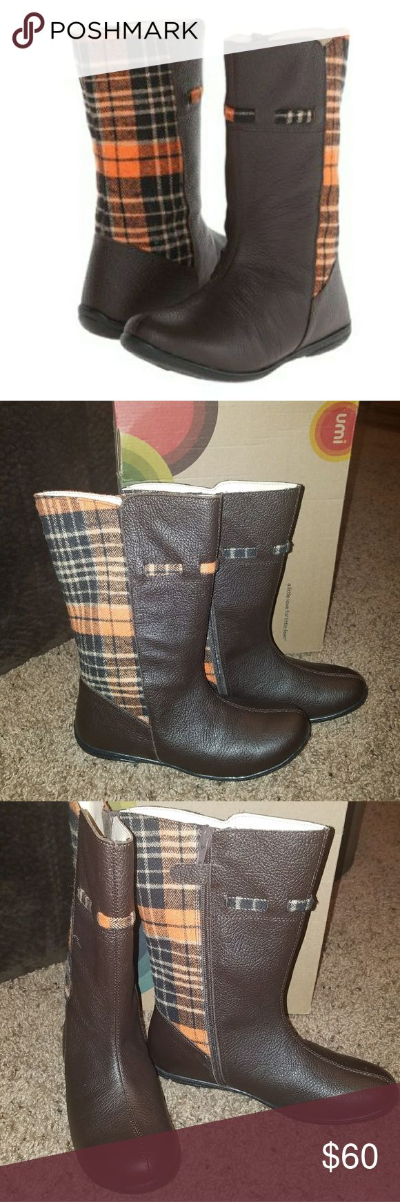 Girls umi Rayna II Boots Size 2 UMI Brand New Brand New  Leather Non slip sole  Retail - $88  🛒🎁 Bundle and Save 💵💲 15% off 3+ items & All items marked with a ❤ are 3 for $25 or 5 for $40 Umi Shoes Boots
