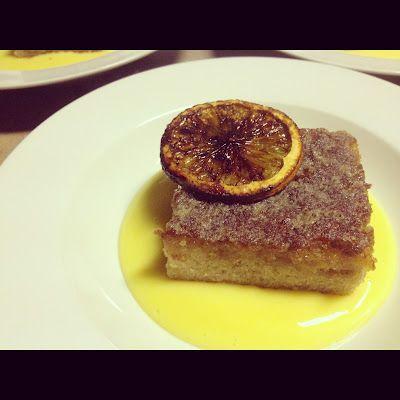 Callie-Anne Cooks.: Orange Infused Malva with Custard & Cramelized Orange Slices