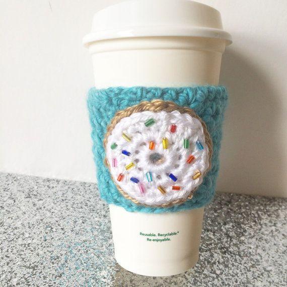 72 mejores imágenes de crochet cozies en Pinterest | Taza de café ...