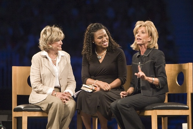 Kay Arthur, Beth More, Priscilla Shirer....saw them together in Nashville several years ago. AMAZING is all I can say!!