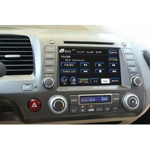 Oem Replacement Dvd 7 Touchscreen Gps Navigation Unit For Honda Civic 2006 2007
