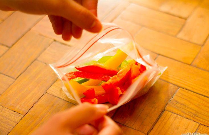 Como congelar pimentão e outros vegetais em casa?  // +em casaecozinha.com :-)