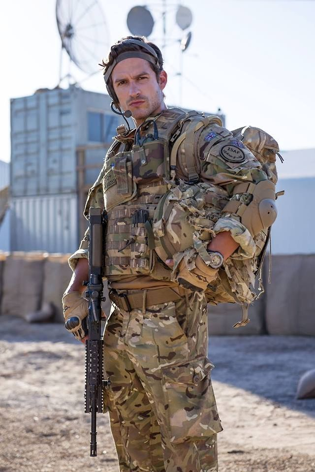 Captain James aka Ben Aldridge in Our Girl