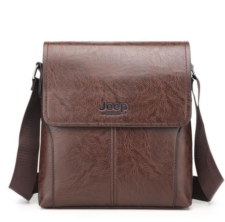 Business man bag single shoulder bag Canvas casual Messenger bag Mens bag handbag vertical Briefcase