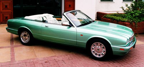 http://chicerman.com  carsthatnevermadeit:  Daimler Corsica concept 1996 a two-door convertible prototype based on the Jaguar X300 XJ series built to commemorate Daimlers centenary. The Daimler brand had subsequently been discontinued  #cars