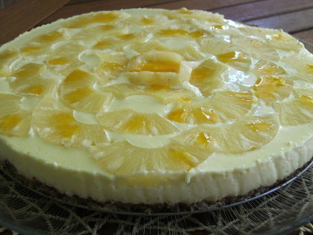 Cozinhadaduxa: Cheesecake de Ananás