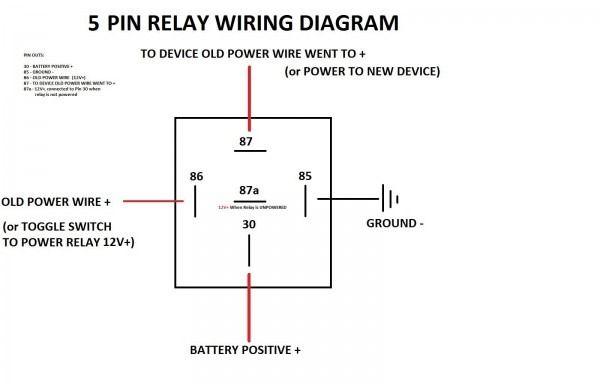 5 Pin Relay Wiring Diagram 4rd Rangkaian Elektronik Bokeh Elektronik