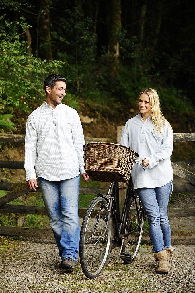 Thick Irish flannel cotton shirts Grandad shirts by #leevalleyireland  #collarlessshirts, #grandfathershirts, #grandadshirt, #granddadshirt, #grandad #shirtwithtail