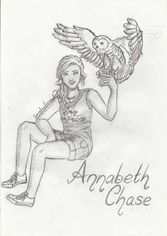 character sketch annabeth chase Annabeth chase is a fictional character in rick riordan's percy jackson and the olympians.