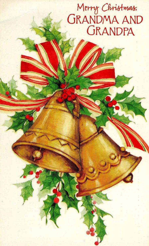 Vintage Christmas Bells | Christmas #vintage #ephemera # ...