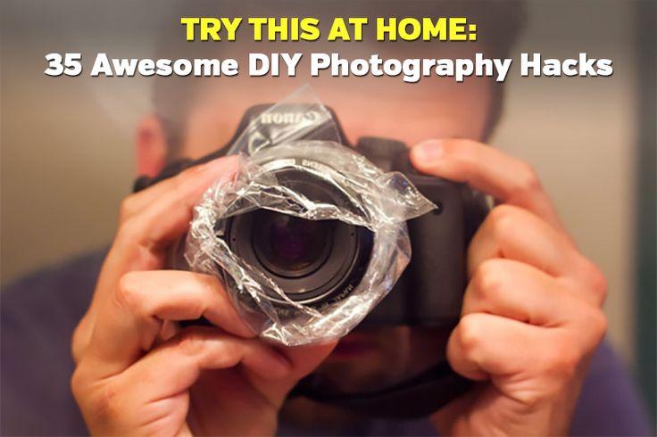 35 Awesome DIY Photography Hacks.