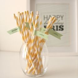 Personalise your party straws with this cute DIY flag tutorial and free printable download